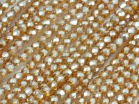 FP 3mm Topaz Frosted Pearl - 40 sztuk