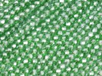 FP 3mm Green Emerald Frosted Pearl - 40 sztuk