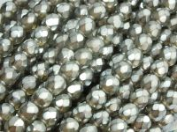 FP 6mm Black Diamond Frosted Pearl - 20 sztuk
