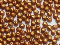 FP 3mm Gold Shine Brownish Red - 40 sztuk
