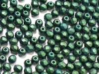 FP 3mm Gold Shine Dark Green - 40 sztuk