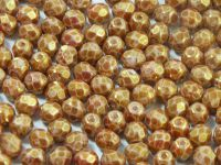 FP 4mm Reddish Brown Marble - 40 sztuk