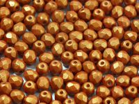 FP 4mm Gold Shine Brownish Red - 40 sztuk