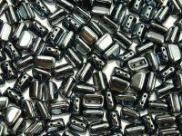 Roofy Beads Hematite 8x5 mm - 20 sztuk