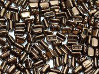 Roofy Beads Dark Bronze 8x5 mm - 20 sztuk