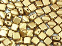 Silky Beads 6mm Matte Metallic Flax - 20 sztuk