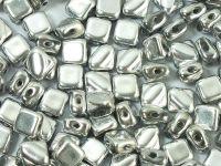 Silky Beads 6mm Silver - 20 sztuk