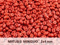 miniDUO 2x4mm Chalk Lava Red - 5 g