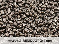 miniDUO 2x4mm Metallic Bronze - 5 g