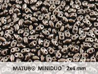 miniDUO 2x4mm Metallic Bronze - 5 g