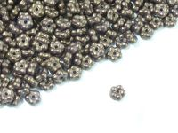 Forget-me-not 5mm Gold Shine Saddle Brown - 5 g