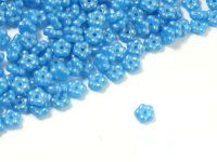 Forget-me-not 5mm Gold Shine Cornflower Blue - 5 g