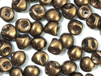 Mushroom Beads Dark Bronze 9x8mm - 10 sztuk