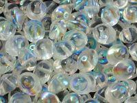 UFO Beads Crystal AB  - 5 sztuk