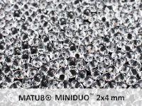 miniDUO 2x4mm Crystal - 50 g