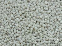 Round Beads Luster Alabaster 2 mm - 5 g