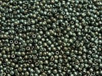 Round Beads Luster - Metallic Olivine 2 mm - 5 g