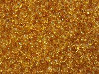 TOHO Round 8o-622 Transparent Gold Topaz - 10 g