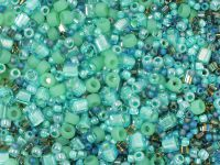 TOHO Multi-Shape Color Mix - Take - Seafoam - Green Mix - 20 g