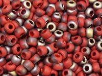 TOHO Round 6o-Y854F HYBRID Frosted Pepper Red Apollo - 10 g