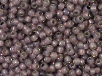 TOHO Round 8o-PF2114 PermaFinish Silver-Lined Milky Nutmeg - 10 g