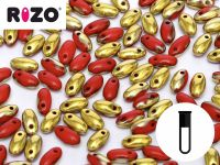RIZO Beads Opaque Red Amber - fiolka