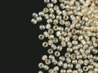 Round Beads Luster - Transparent Champagne 3 mm - opakowanie