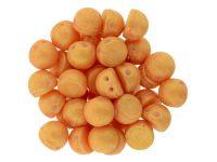 CzechMates Cabochon Pacifica - Tangerine 7mm - 10 sztuk