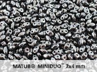 miniDUO 2x4mm Hematite - 50 g