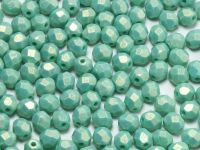 FP 4mm Sueded Gold Turquoise - 40 sztuk