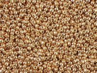 TOHO Round 15o-PF551 Permanent Finish - Galvanized Rose Gold - 50 g