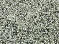 TOHO Round 15o-21 Silver-Lined Crystal - 50 g