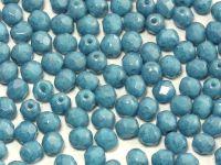 FP 4mm Blue Turquoise - Blue Terracota - 40 sztuk