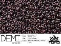 TOHO Demi Round 11o-Y617 HYBRID Metallic Suede Lilac - 5 g