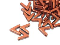 AVA Beads Copper - 2 sztuki