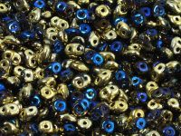 SuperDuo 2.5x5mm Crystal California Blue - 10 g