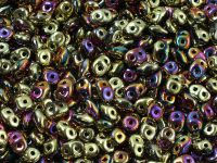 SuperDuo 2.5x5mm Crystal California Violet - 10 g