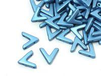 AVA Beads Metallic Sea Blue - 2 sztuki