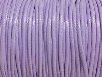 Sznurek lakierowany lilaróż 2 mm - 2 m