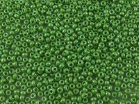 PRECIOSA Rocaille 10o-Opaque Lustered Medium Green - 50 g