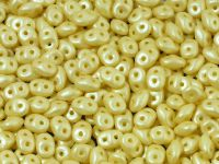SuperDuo 2.5x5mm Pastel Yellow - 100 g