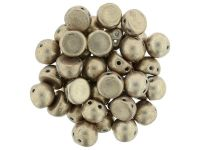 CzechMates Cabochon ColorTrends - Saturated Metallic Hazelnut 7mm - 10 sztuk