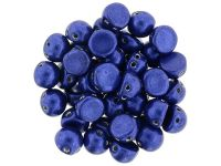 CzechMates Cabochon ColorTrends - Saturated Metallic Lapis Blue 7mm - 10 sztuk