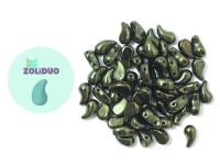 Zoliduo (Left) Luster - Metallic Olivine 5x8 mm - 10 sztuk