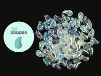 Zoliduo (Left) Crystal AB 5x8 mm - 10 sztuk