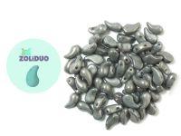 Zoliduo (Left) Luster - Metallic Grey 5x8 mm - 10 sztuk
