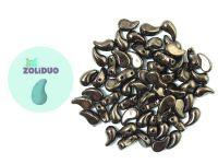 Zoliduo (Left) Metallic Bronze 5x8 mm - 10 sztuk