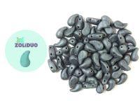 Zoliduo (Left) Matte Hematite 5x8 mm - 10 sztuk