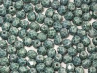 FP 4mm Teal Marble - 50 g