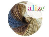Włóczka ALIZE Superlana Klasik Batik 4263 - motek